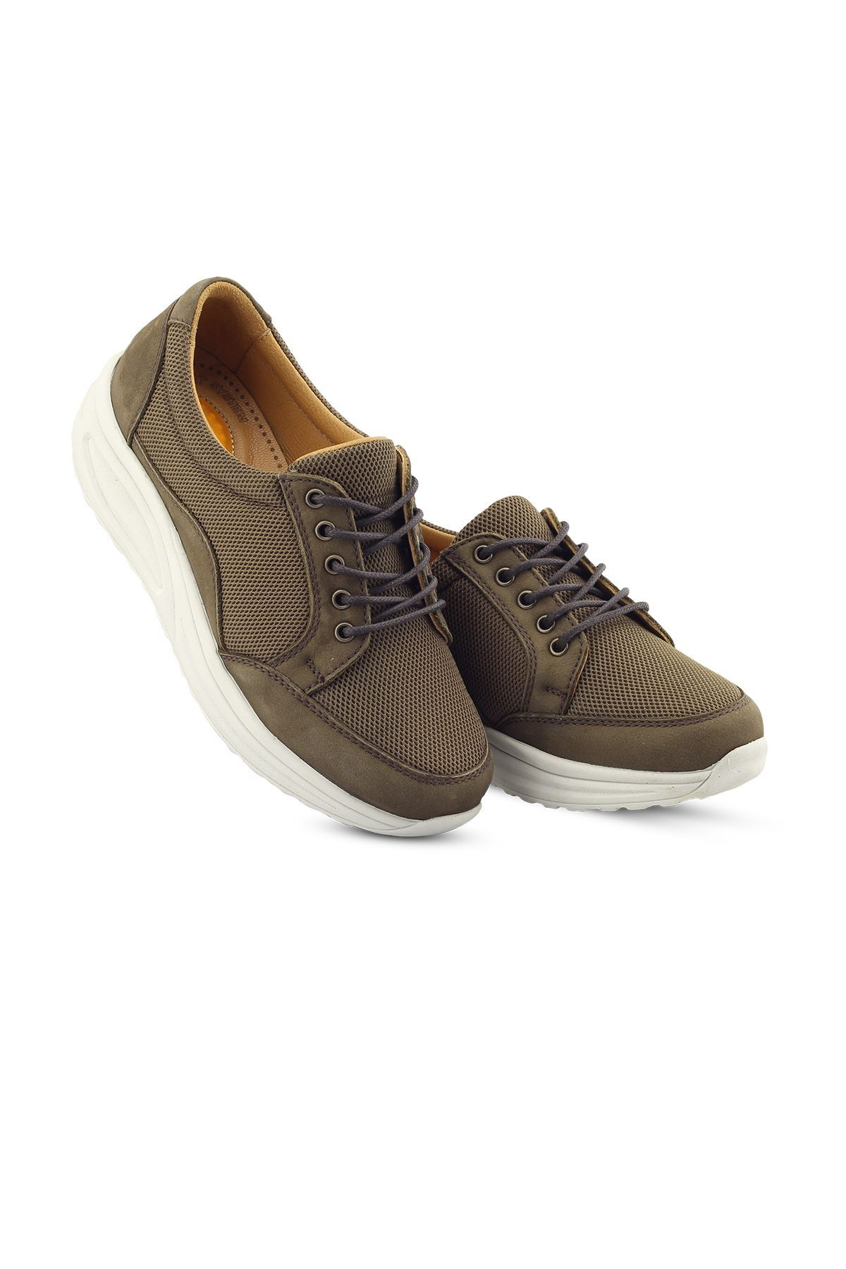 756 Nubuk Haki Kadın Yürüyüş Ayakkabısı