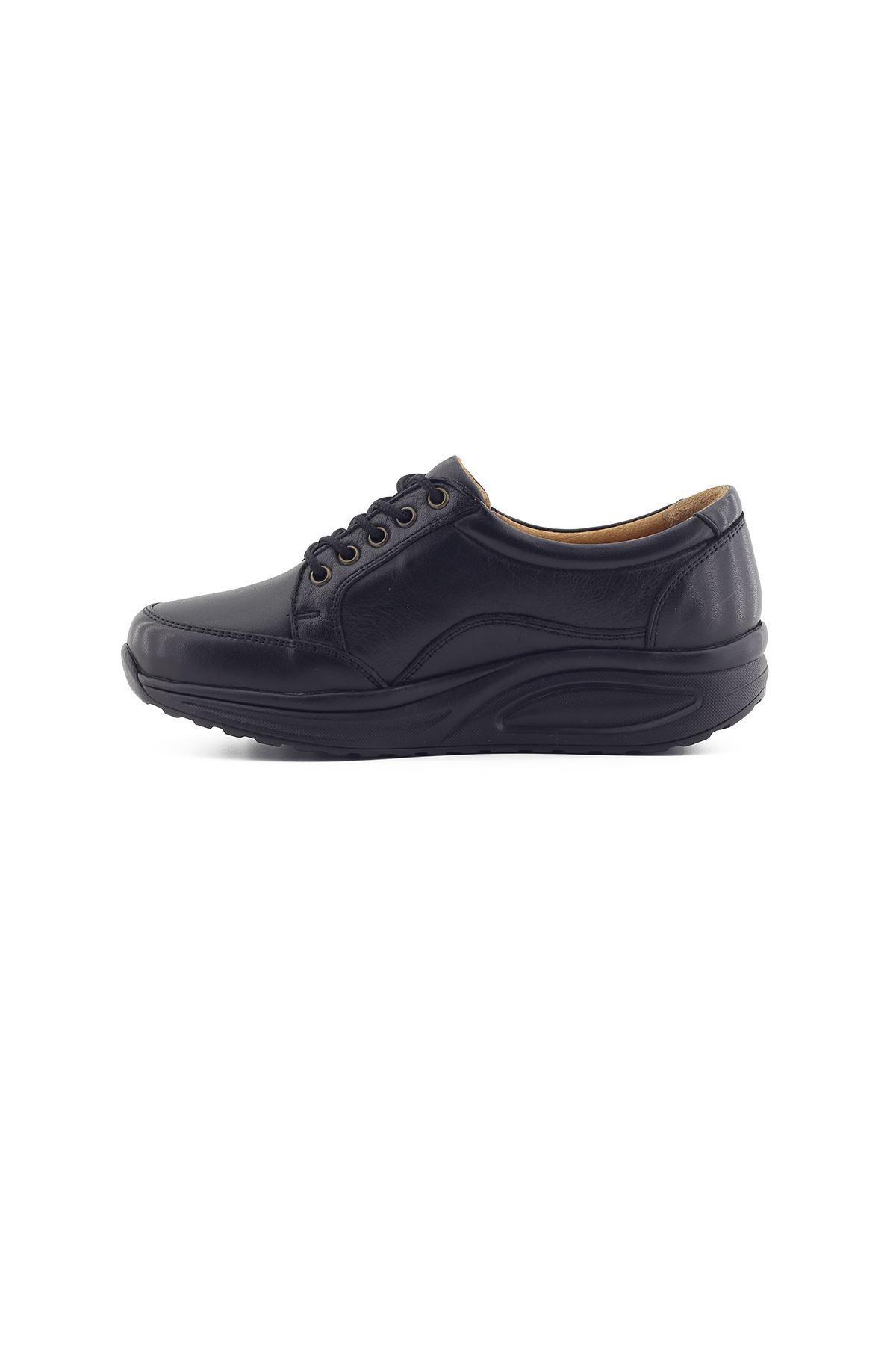 755 Siyah Kadın Yürüyüş Ayakkabısı