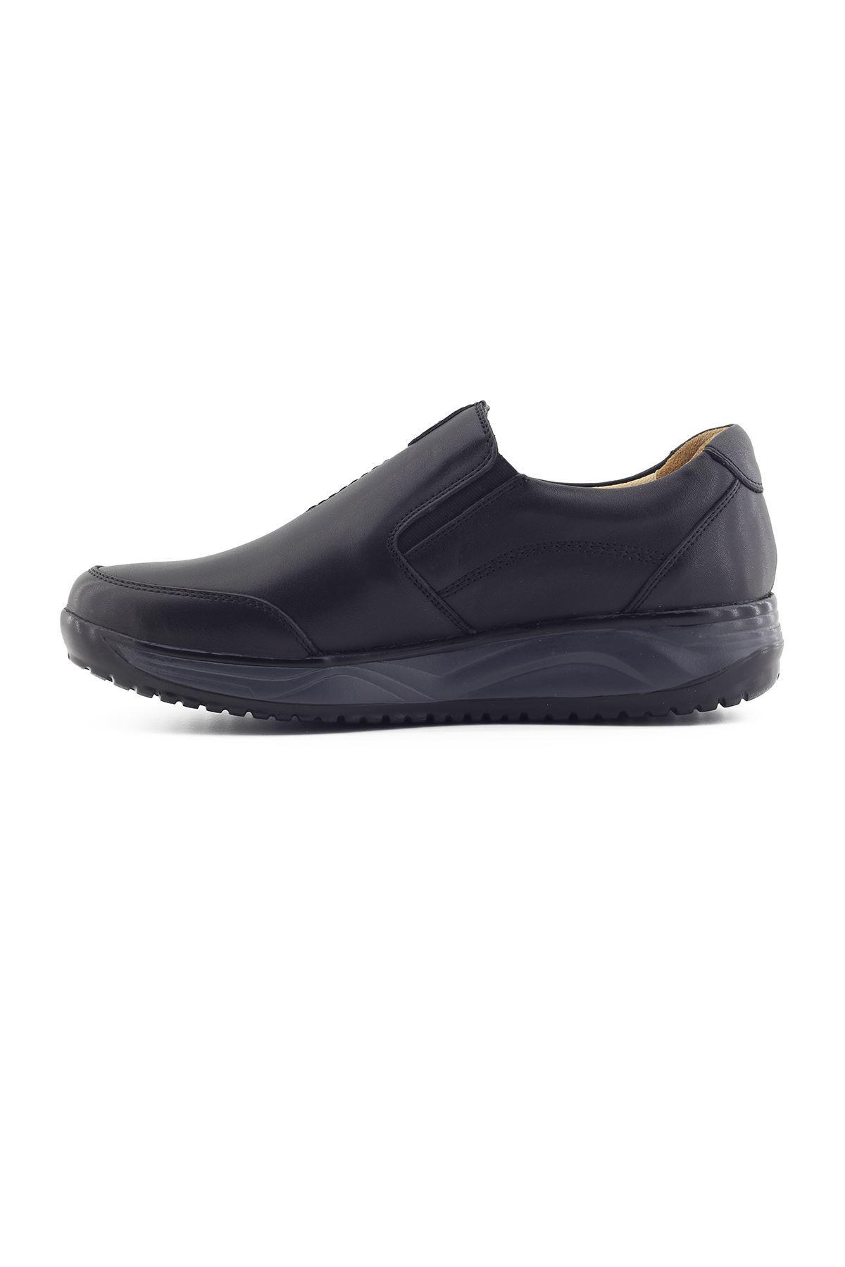 1650 Siyah Erkek Yürüyüş Ayakkabısı