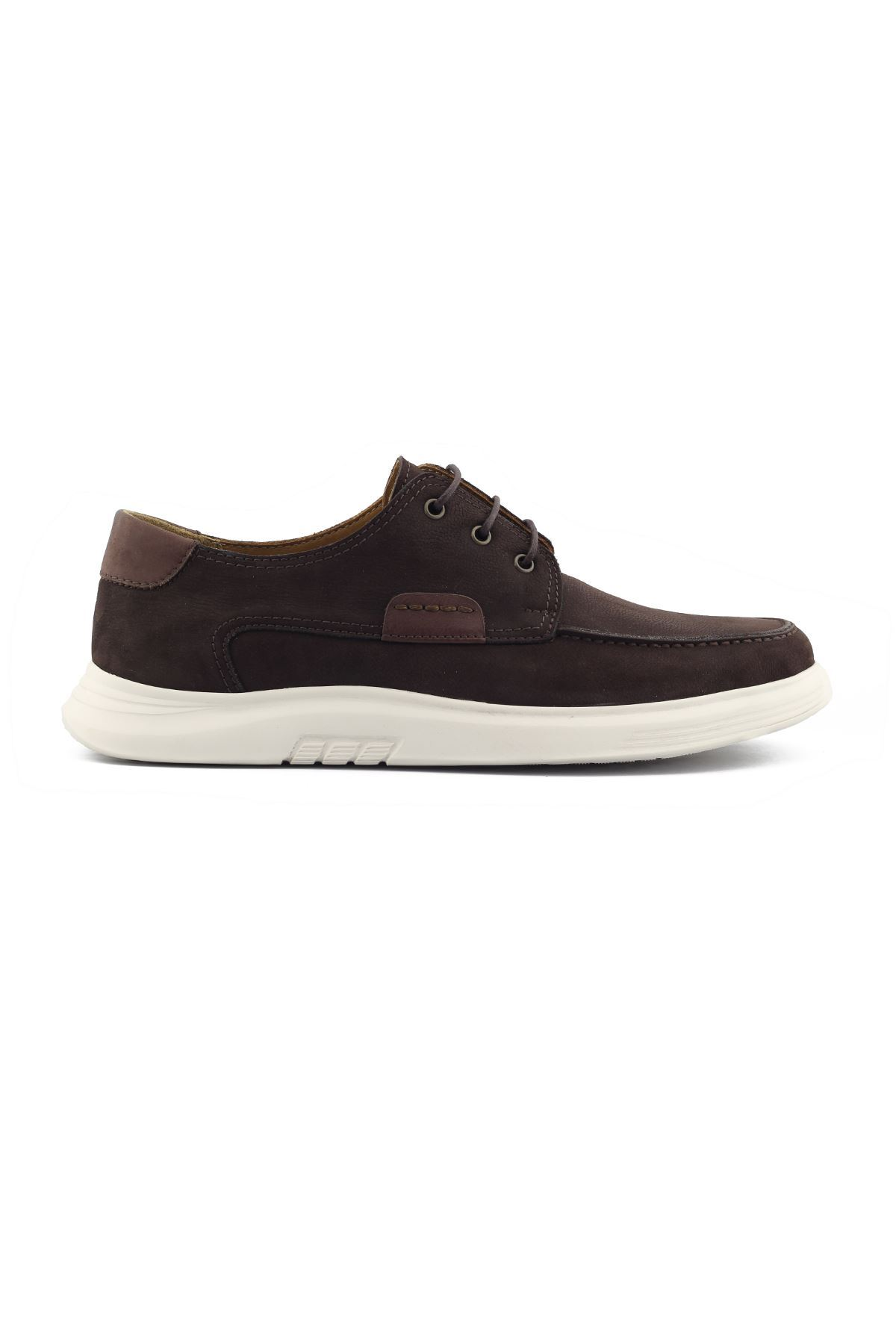 2101 Nubuk Kahve Stil Erkek Ayakkabı