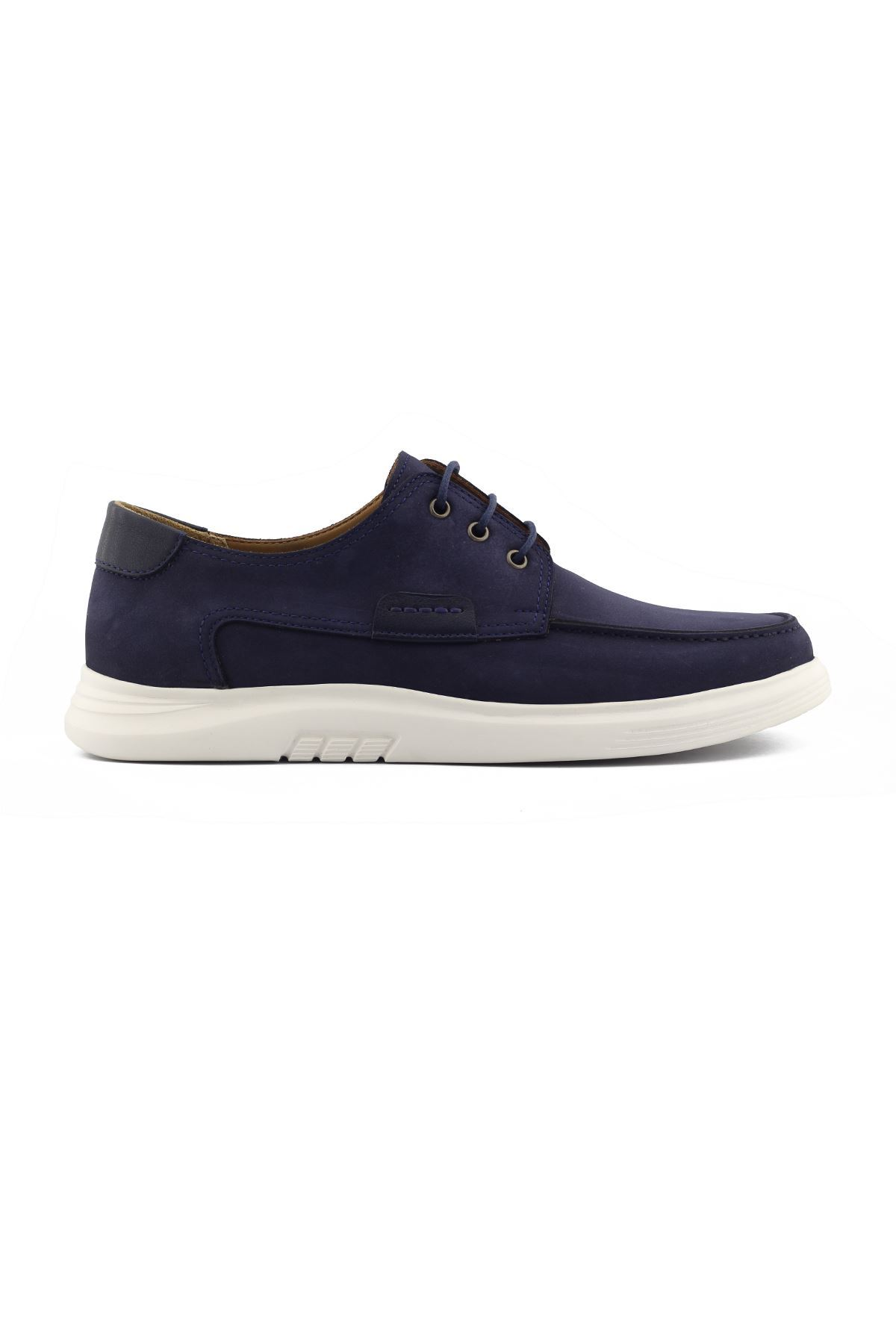 2101 Nubuk Lacivert Stil Erkek Ayakkabı