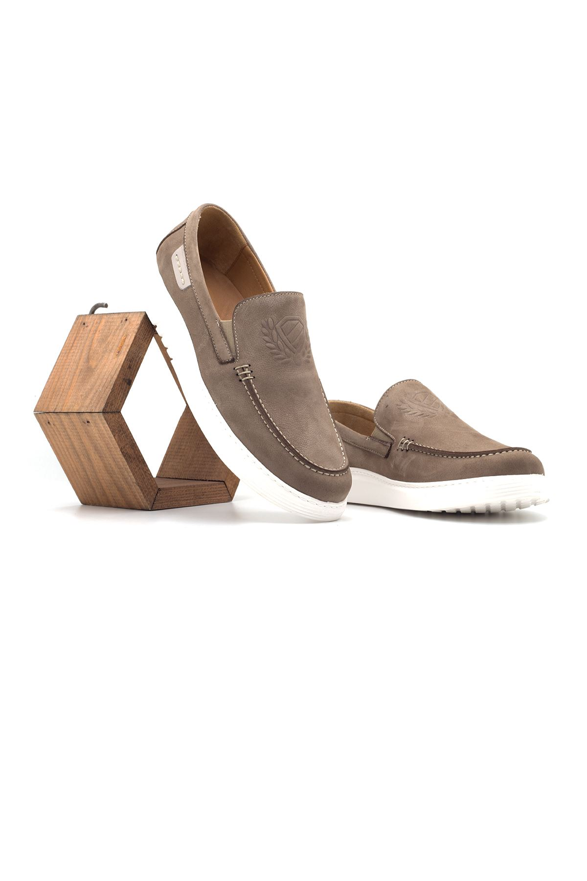 2105 Nubuk Kum Stil Erkek Ayakkabı